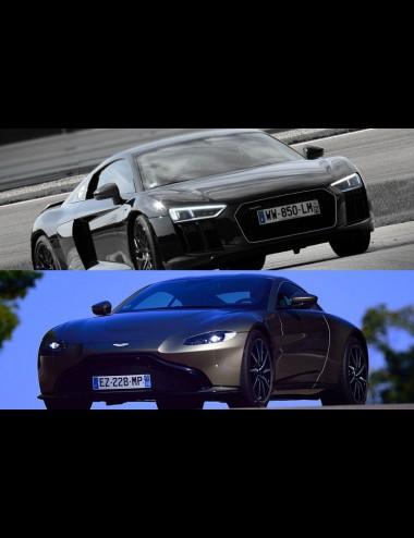 Stage de pilotage Audi R8 V10 + Aston Martin V8 Vantage