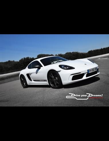 Driving experience Porsche Cayman 718T