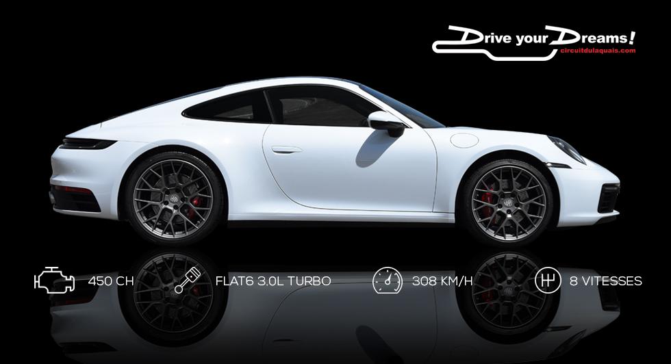 Stage de pilotage Lamborghini Huracan - Porsche 911 carrera