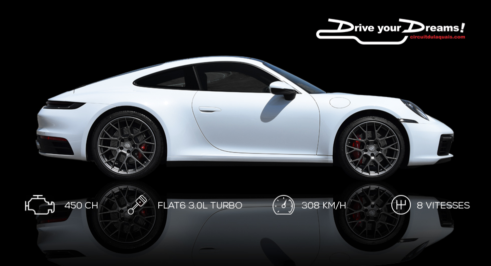 Stage de pilotage Ferrari 458 Italia - Porsche 911 carrera S au Circuit du Laquais