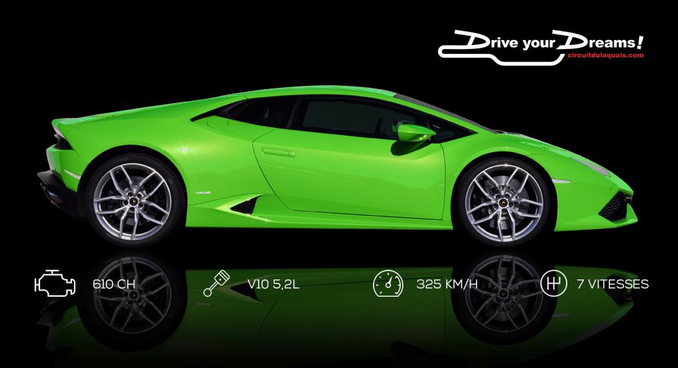 Stage de pilotage Ferrari 458 Italia - Lamborghini HuracanStage de pilotage Ferrari 458 Italia - Lamborghini Huracan au Circuit du laquais